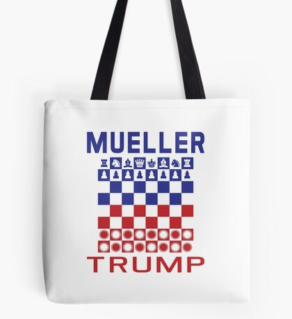 Mueller Chess Trump Checkers Tote Bag