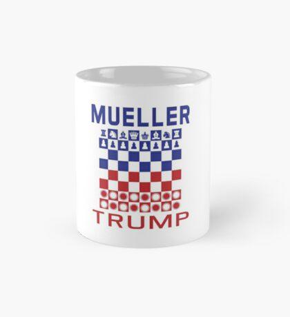 Mueller Chess Trump Checkers Mug