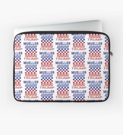 Mueller Chess Trump Checkers Laptop Sleeve