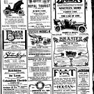 1906 The Sun newspaper page ads by coralZ