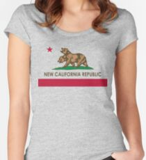 Classic New California Republic Women's Fitted Scoop T-Shirt