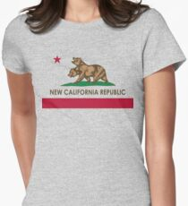 Classic New California Republic Women's Fitted T-Shirt