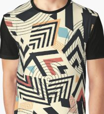 Seamless vector geometric pattern Graphic T-Shirt