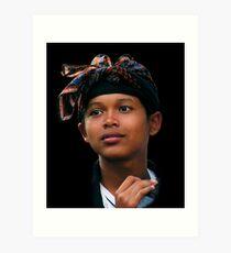 BALINESE BOY - UBUD Art Print