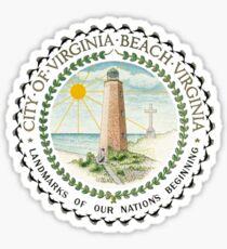 Seal of Virginia Beach Sticker