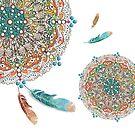 Feather Mandala by Karin Taylor