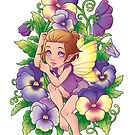 Spring Pansies by Destiny Lauritsen