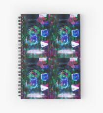 (P)eace (L)ove (U)nity (R)espect Spiral Notebook