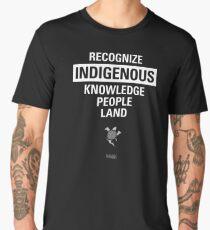 Recognize Indigenous Men's Premium T-Shirt