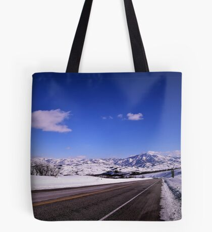 Snow Country Tote Bag