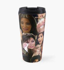 Kardashians schreiende Collage Thermobecher