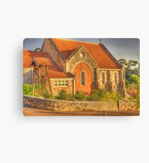 St Paul's Church, Bridgetown, Western Australia #2 Canvas Print