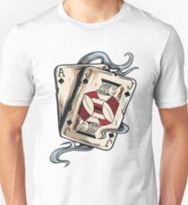 Camiseta ajustada Poker Cards