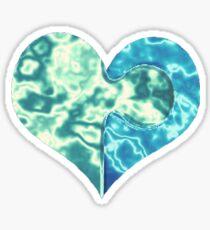 Heart Puzzle Sticker