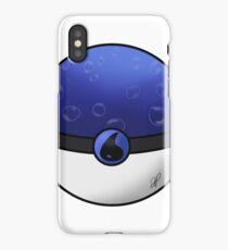 Water Type Pokeball iPhone Case/Skin