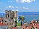 Sé de Lisboa. (Cathedral). Tejo river. by terezadelpilar ~ art & architecture