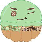 Kawaii Minty Winky Choccy Woccy by Castiel Gutierrez