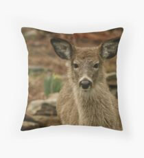 LOOK WHO CAME FOR DINNER Throw Pillow