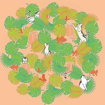 Cat Garden by likidddsign