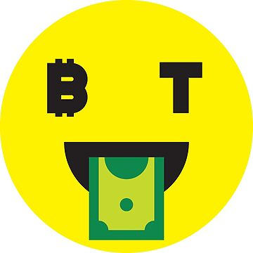 Bitcoin Money Face Smiley by Bitcoin-Smiley