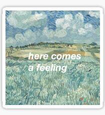 Van Gogh Vampire Weekend Sticker