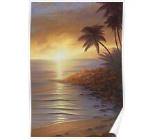 """ Napili Sunset "" Poster"