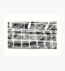 Lines, Shapes & Angles Art Print