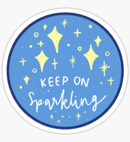 Keep on Sparkling Sticker