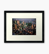 STUNNING! NEW YORK CITY Framed Print