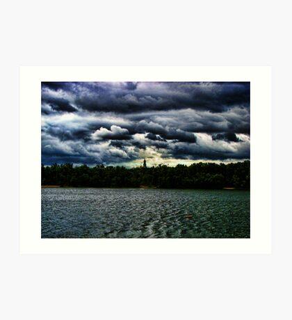 Dnieper River - Kiev, Ukraine Art Print
