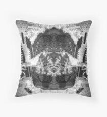 Symmetrical Ventricle  Throw Pillow