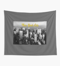Stunning! 1970's Retro New York City USA Wall Tapestry