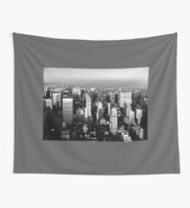 Stunning! New York City Vintage 1970's Wall Tapestry