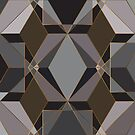 Polygon geometric [dark] by camcreativedk