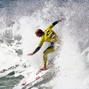 Mick Fanning in 2009 Rip Curl Pro, Bells Beach (4) by janjuc