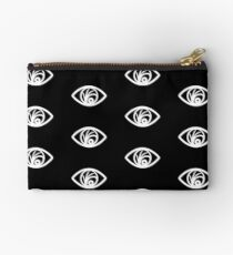 Look Away (white) Studio Pouch