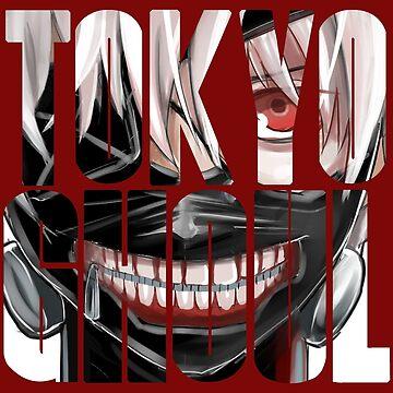 Tokyo Ghoul logo v6 by MisterNightmare