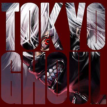 Tokyo Ghoul logo v7 by MisterNightmare