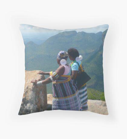 Cultural Pride ~ the VENDAs Throw Pillow
