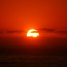 Sunrise over the Ocean by Of Land & Ocean - Samantha Goode