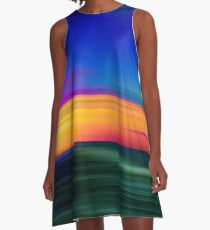 Abstract Photoart  A-Line Dress