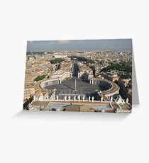 St Peters Basilica, Rome Greeting Card