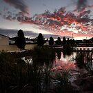 Raillands Sunset by John Davies