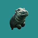 Cute Baby Hippo by SupportiveSols
