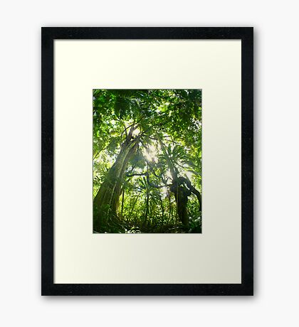 Jungle Dreaming... Framed Print