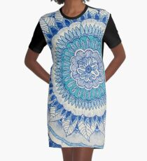 Inner Peace Graphic T-Shirt Dress