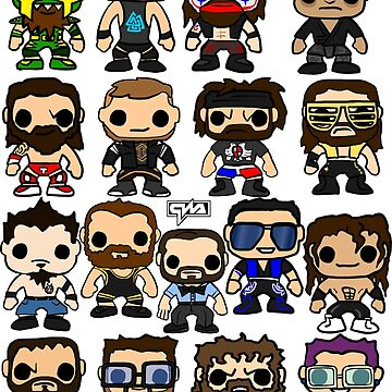 QWA Vinyl Pop-fighters by Chewfactor