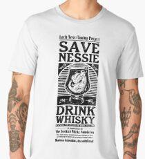 Save Nessie, Drink Whisky! Men's Premium T-Shirt