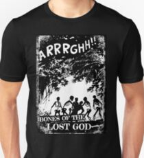 Arrrghh!! a BONES of the LOST GOD t-shirt Slim Fit T-Shirt