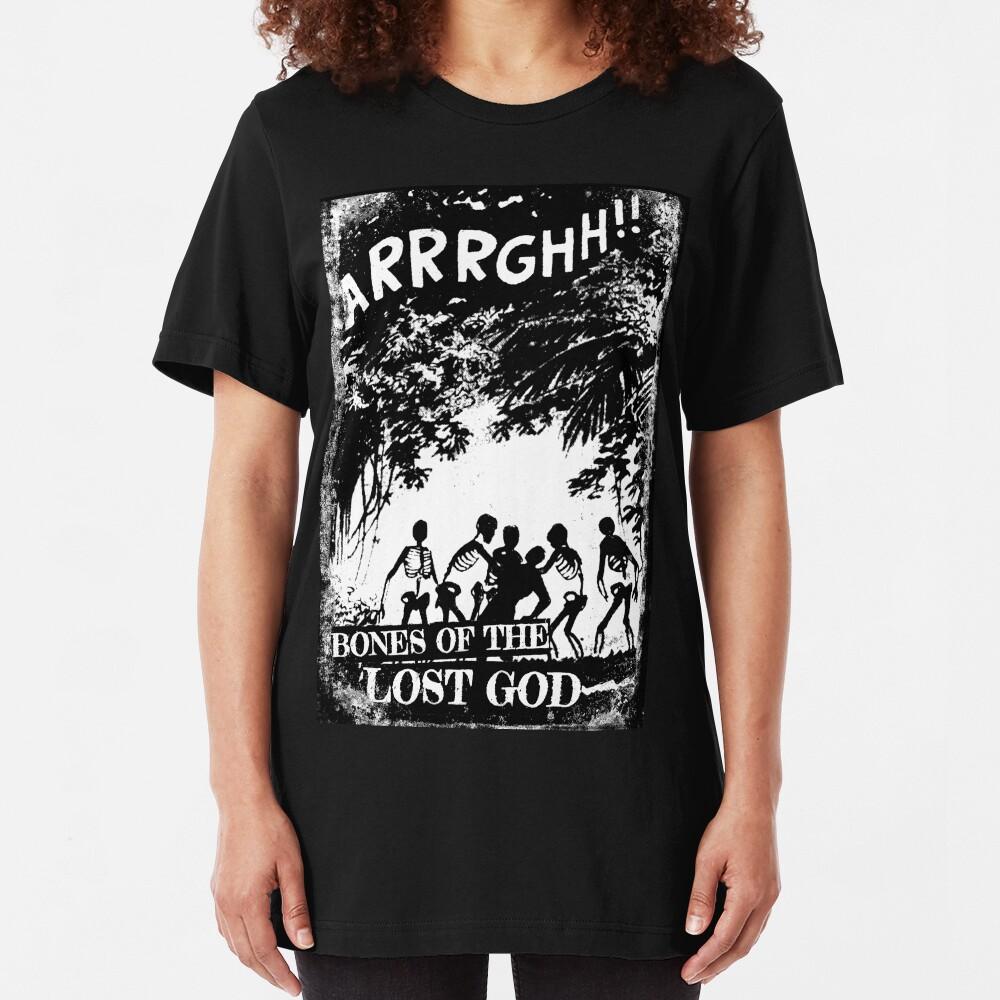 Arrrghh!! a BONES of the LOST GOD t-shirt Slim Fit T-Shirt